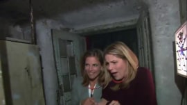 Scaredy-pants! Jenna relives her terrifying haunted house tour
