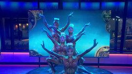 Watch Cirque du Soleil 'KURIOS' contortionists' entrancing performance