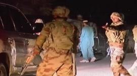 Gunmen storm police training center in Pakistan, killing at least 59