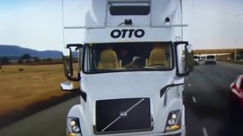 Self-driving commercial truck delivers 50,000 cans of beer across 120 miles