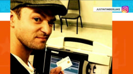 Justin Timberlake is NOT in trouble for taking a selfie inside a voting booth