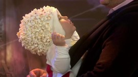 Baby popcorn bucket and other last-minute DIY Halloween costumes for kids