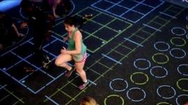 Hip-hop yoga? Lilliana Vazquez tries 2 trendy new workouts