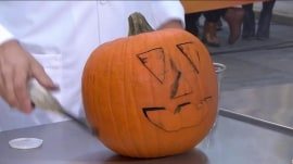 Halloween science experiments to make a pumpkin carve itself, and more