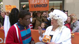 'Betsy Ross' joins TODAY to highlight trick-or-treat for UNICEF