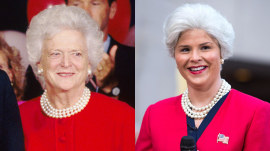 See Jenna Bush Hager impersonate her own grandmother, Barbara Bush