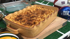 Yum! Make Sunny Anderson's pulled pork mac and cheese