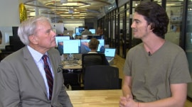 Tom Brokaw looks at latest workplace trend, 'WeWork'