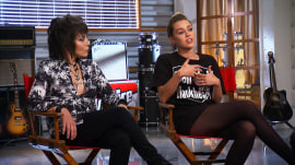 Miley Cyrus and Joan Jett open up about working together on 'The Voice'