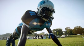 Is football safe for kids? Study looks at brain changes