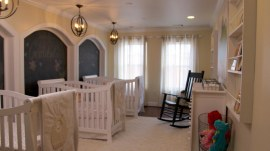 Couple gets much-needed nursery renovation ahead of triplets