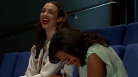 'Is this interview over?' Watch outtakes with Miranda Sings and Sheinelle