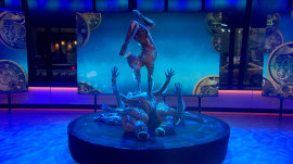 Watch Cirque du Soleil 'KURIOS' contortionists' entrancing performance