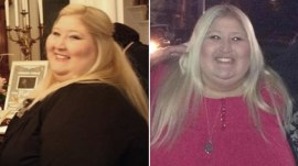 She lost 350 pounds after getting stuck in a turnstile