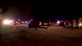 2 police officers shot in Oklahoma; hunt for suspect underway