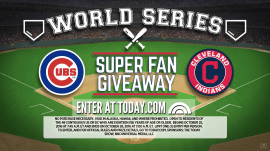 TODAY's World Series Super Fan Giveaway could send you to the game