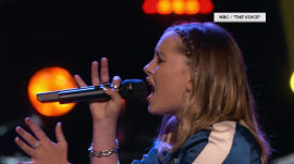 Candace Cameron Bure's daughter Natasha eliminated on 'The Voice'