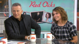 Eric Dane attempts 'Red Oaks' interview; Jennifer Grey shares Tamron girl-crush