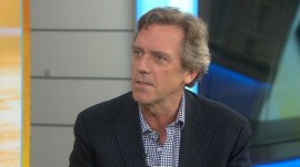 Hugh Laurie: I'm mentally and physically 'naked' in 'Chance'