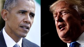President Obama turns Donald Trump feud into war of words: 'Stop whining'