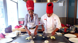 Does Tamron have what it takes to be a master hibachi chef?