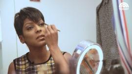 See Tamron Hall's morning makeup routine