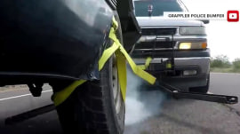 Batman-style 'grappler' aims to end police car chases safely