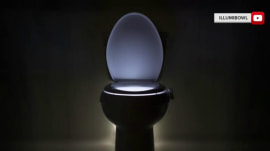 Toilet bowl night light will change your middle-of-the-night bathroom runs