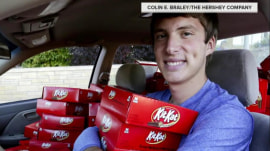 Sweet revenge: Student gets 6,500 Kit Kats after 1 was stolen from his car