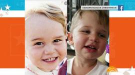 See adorable babies who look like Prince George, Ed Sheeran