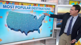 Where Thanksgiving travel is expected to be heaviest