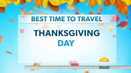 The best time to hit the road for Thanksgiving is…