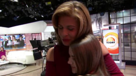 Hoda catches up with young cancer survivor