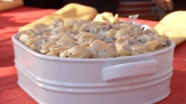 Mac and cheese with mushrooms: Make it on your stovetop