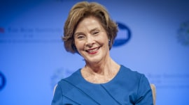 Happy 70th birthday to Jenna's mom, the 'strong, courageous' Laura Bush!