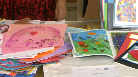 Don't throw out family photos and kids' art: Organize them instead