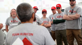 Team Rubicon takes 'some of the best parts of the military' to help when disaster strikes