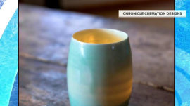 Luxury coffee cups, bowls and jewelry made from… cremations?