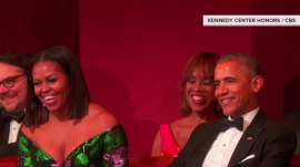 The Obamas get the longest ovation at 2016 Kennedy Center Honors