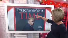 TIME magazine: 'M' on Donald Trump's head does not represent horns