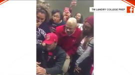 Watching this guy open his Ivy league acceptance letter will excite you too