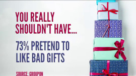 Here's what most people do when they get a holiday gift they don't like