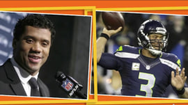 Seahawks quarterback Russell Wilson buys team first-class tickets, flat screen TVs