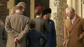 Queen Elizabeth skips Christmas Day church service with royal family