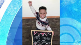 Adorable picture of 3-year-old boy on day of his adoption goes viral