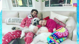 Miley Cyrus, Liam Hemsworth, Chrissy Teigen: Celebs share their Christmas photos