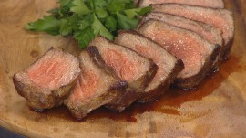 Try chef Ed Brown's perfect steak dinner recipe to ring in the new year