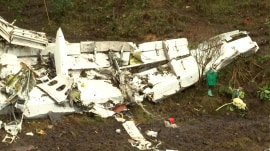 Colombia plane crash: New images of wreckage offer clues to tragedy