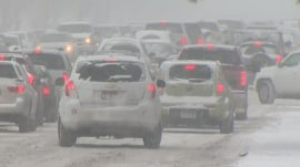 Holiday weather woes: Snow and rain create travel headache for millions