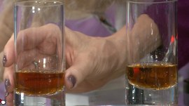 KLG and Hoda try antler vodka, seaweed smoothie and other exotic booze